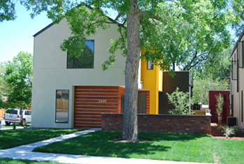 Modern Infill Development on Meade Street Denver